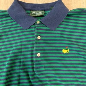 The Masters Augusta National Polo Shirt Green